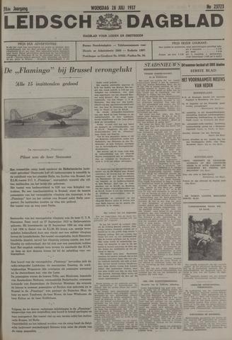 Leidsch Dagblad 1937-07-28
