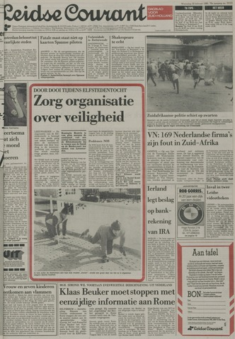 Leidse Courant 1985-02-20