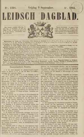 Leidsch Dagblad 1864-09-09