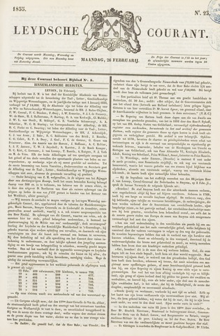 Leydse Courant 1855-02-26