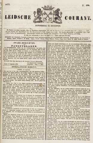 Leydse Courant 1873-08-14