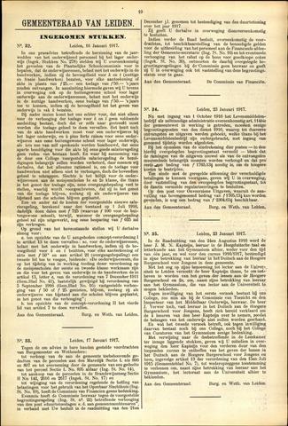 Handelingen van de Raad 1917-01-16