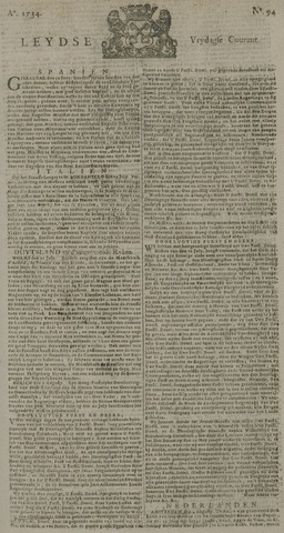 Leydse Courant 1734-08-06