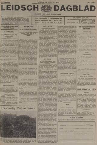 Leidsch Dagblad 1935-08-10