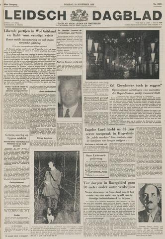 Leidsch Dagblad 1955-11-29