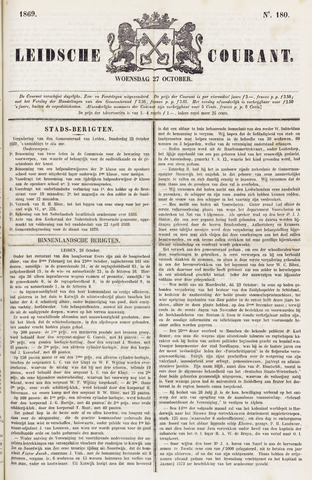 Leydse Courant 1869-10-27