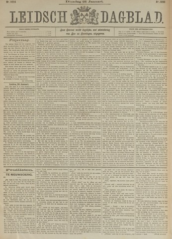Leidsch Dagblad 1896-01-21