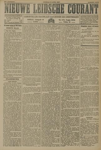 Nieuwe Leidsche Courant 1927-04-12
