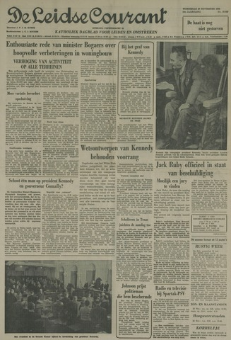 Leidse Courant 1963-11-27