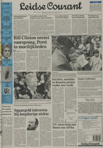 Leidse Courant 1992-07-16