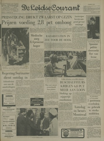 Leidse Courant 1969-02-14