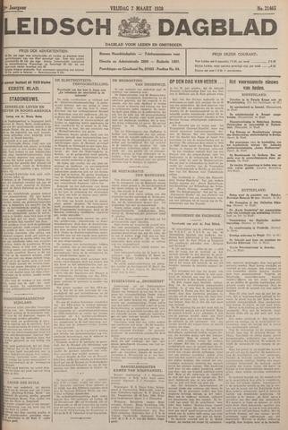 Leidsch Dagblad 1930-03-07