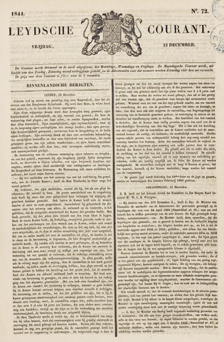 Leydse Courant 1844-12-13
