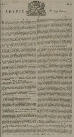 Leydse Courant 1727-08-01