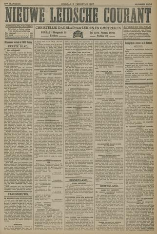 Nieuwe Leidsche Courant 1927-08-09