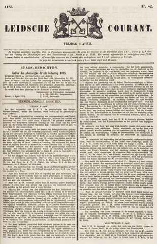 Leydse Courant 1875-04-09