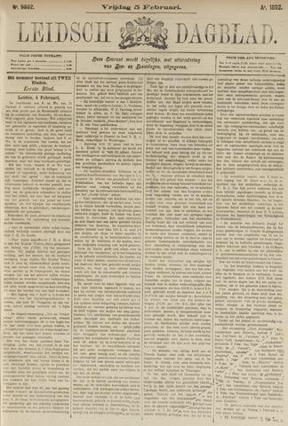 Leidsch Dagblad 1892-02-05