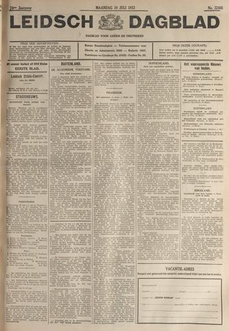 Leidsch Dagblad 1933-07-10