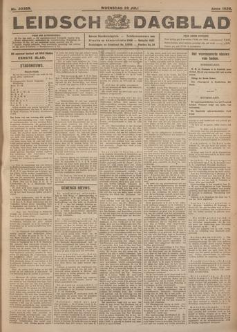 Leidsch Dagblad 1926-07-28