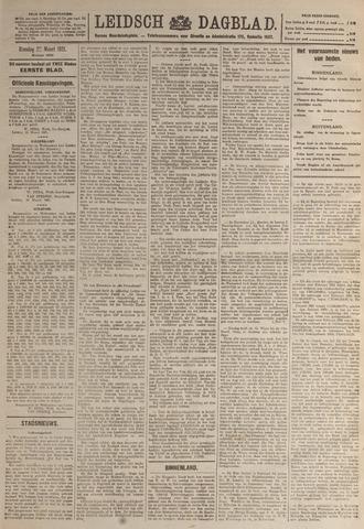 Leidsch Dagblad 1921-03-22