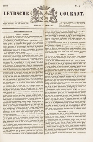 Leydse Courant 1862-01-17