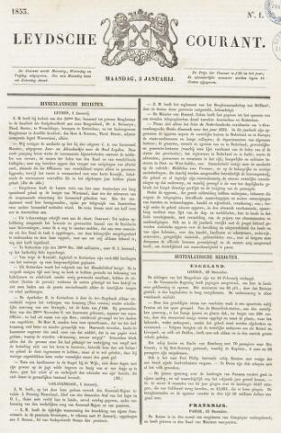 Leydse Courant 1853-01-03