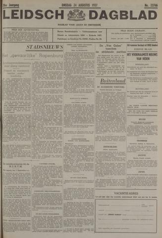 Leidsch Dagblad 1937-08-24