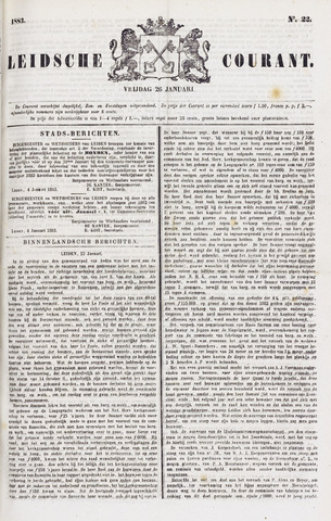 Leydse Courant 1883-01-26