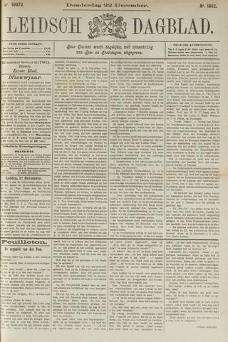 Leidsch Dagblad 1892-12-22