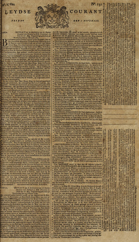 Leydse Courant 1782-11-01