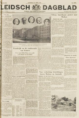 Leidsch Dagblad 1954-04-24