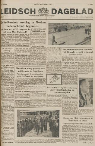 Leidsch Dagblad 1955-09-09