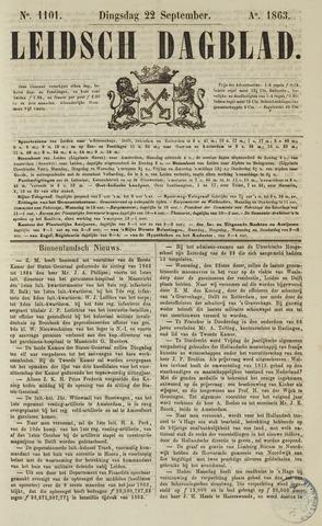 Leidsch Dagblad 1863-09-22