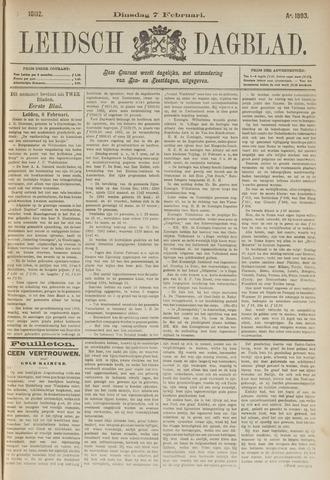 Leidsch Dagblad 1893-02-07