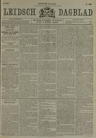 Leidsch Dagblad 1909-06-08