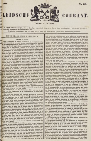 Leydse Courant 1884-10-17