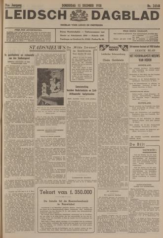 Leidsch Dagblad 1938-12-15