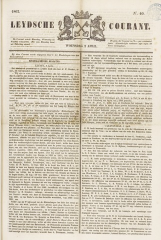 Leydse Courant 1862-04-02