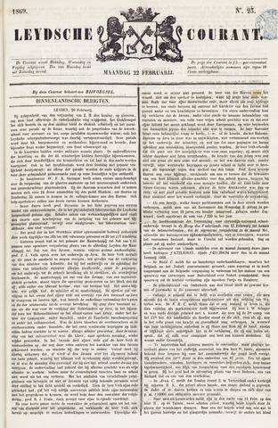 Leydse Courant 1869-02-22