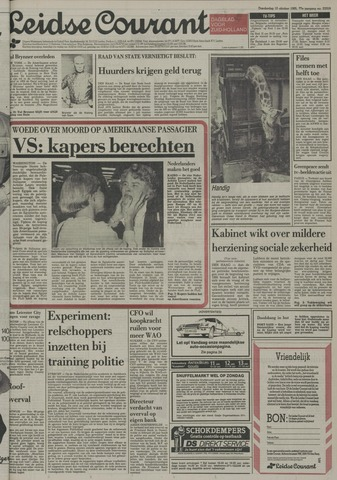 Leidse Courant 1985-10-10