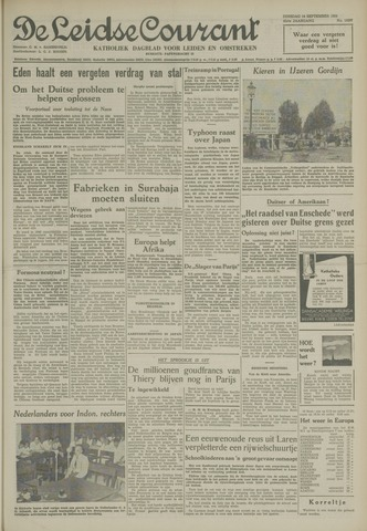 Leidse Courant 1954-09-14