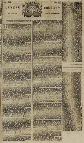 Leydse Courant 1805-09-23