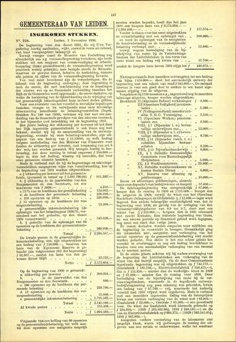 Handelingen van de Raad 1930-11-03