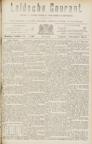 Leydse Courant 1889-10-07
