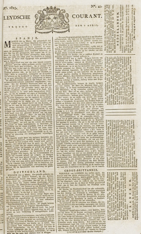 Leydse Courant 1825-04-08