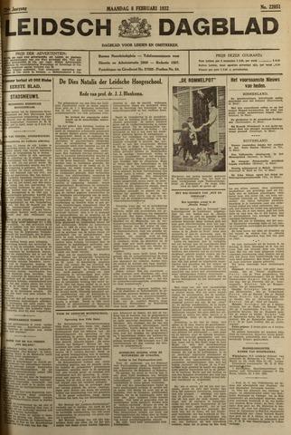 Leidsch Dagblad 1932-02-08