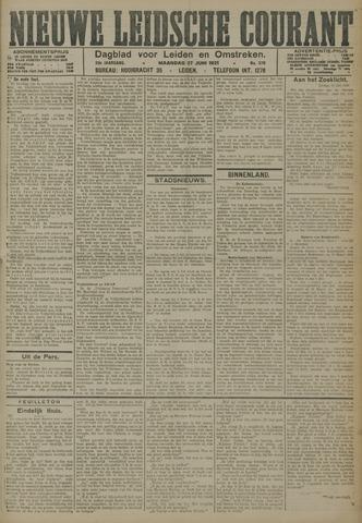 Nieuwe Leidsche Courant 1921-06-27