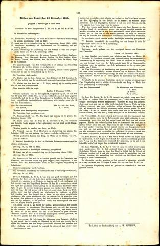 Handelingen van de Raad 1885-12-10