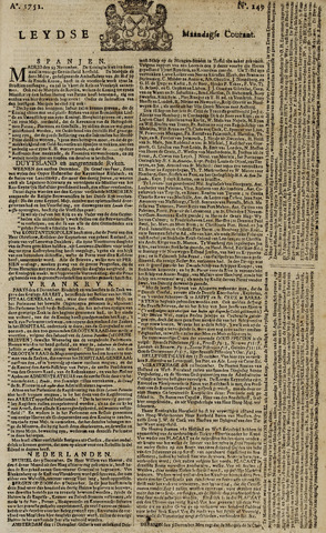 Leydse Courant 1751-12-13
