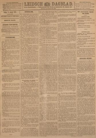 Leidsch Dagblad 1923-01-12